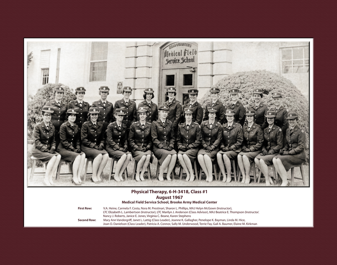 History of physical therapy - Class Of 1967 Celebrating Their 50th Reunion